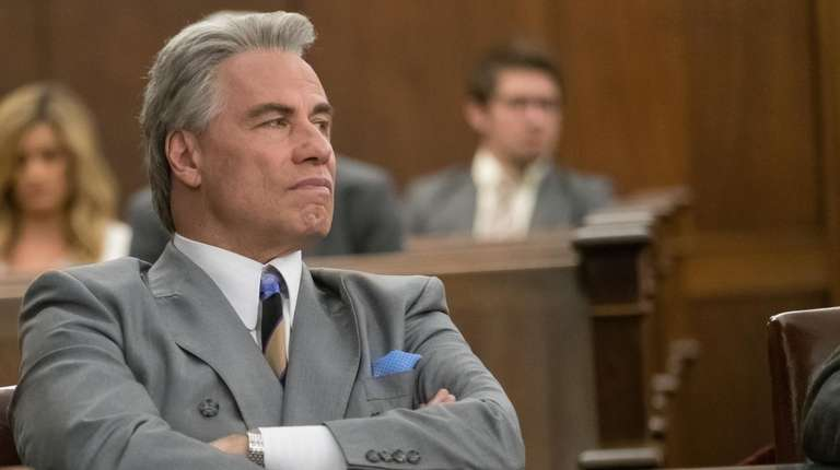 "John Travolta stars in the 2018 movie ""Gotti,"""