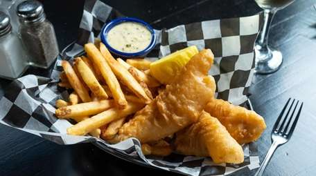 North Atlantic fish and chips, made with cod