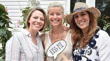 Jill Brody, left, Renee Schlather and Maria Danca