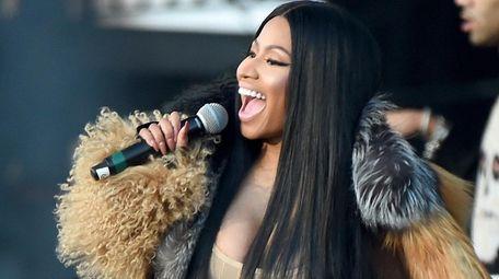Nicki Minaj performs at the Meadows Music and
