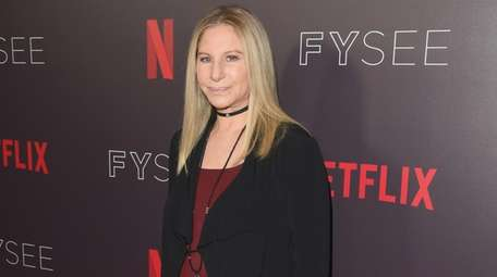 Barbra Streisand, seen on Sunday, will have her