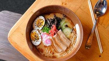 The MB Ramen is chef Marc Bynum's play