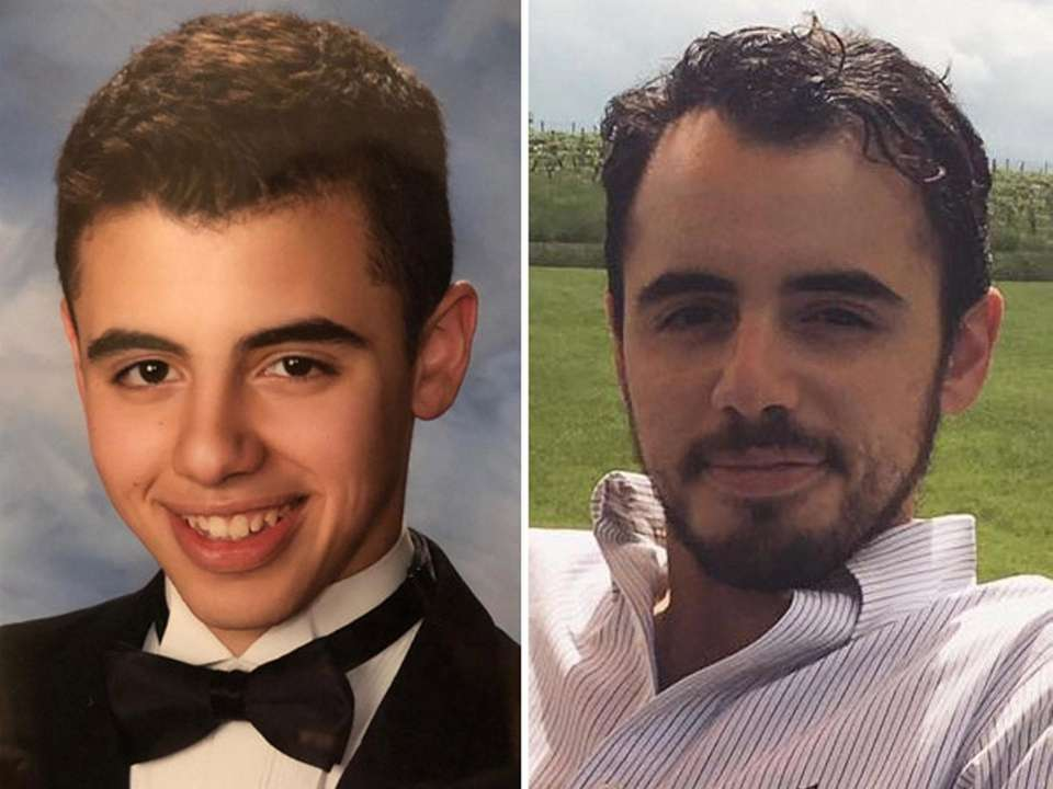 Former Commack High School valedictorian Paul Marano in