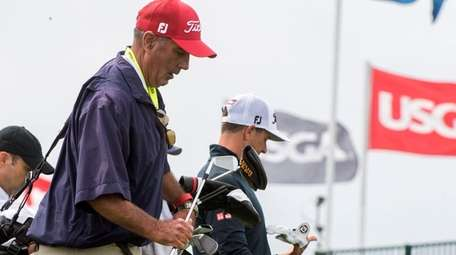 Lenny Bummolo, a Shinnecock Hills caddie from East
