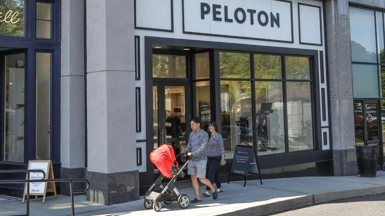 Peloton, which operates two Long Island showrooms,