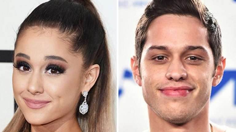 Singer Ariana Grande and actor/comedian Pete Davidson are