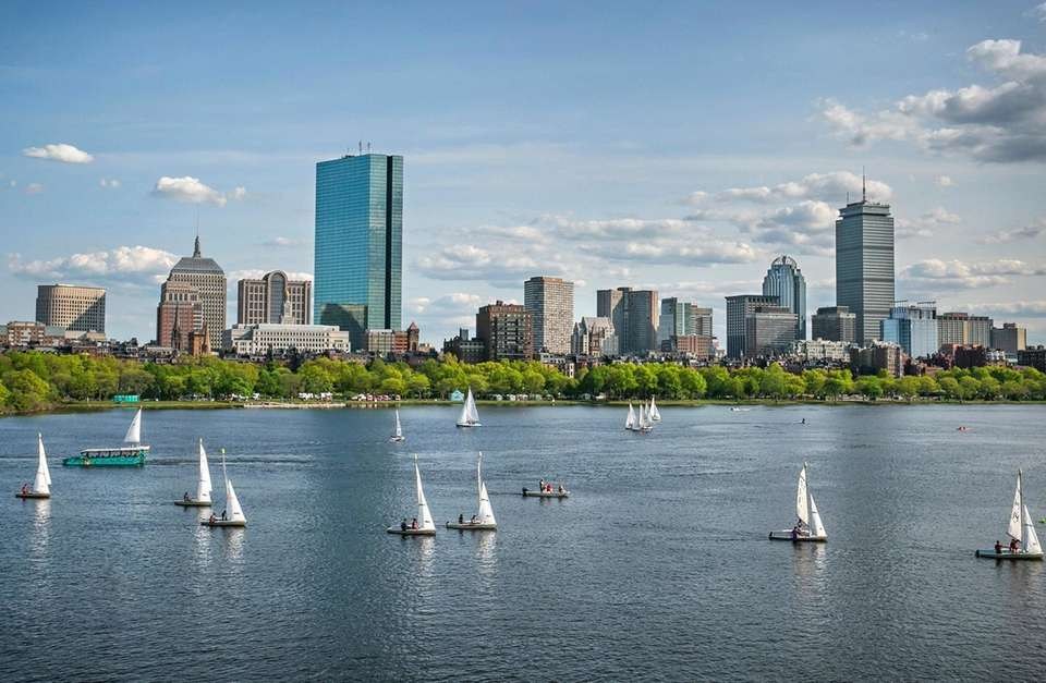 Boston skyline, for 8/22/17 travel piece