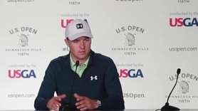 Jordan Spieth, the 2015 U.S. Open champion, talks