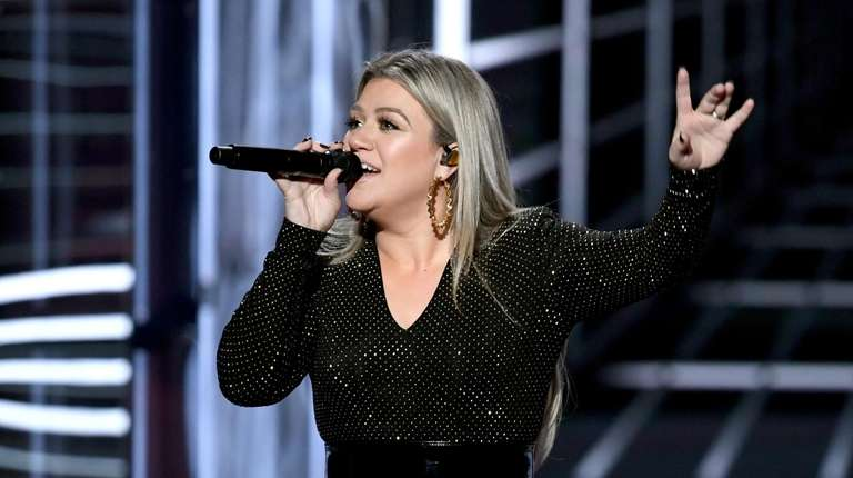 Kelly Clarkson, seen here on May 20