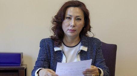 Minsun Kim, president of the Korean American Association