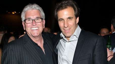 Mike Francesa, left, and Chris