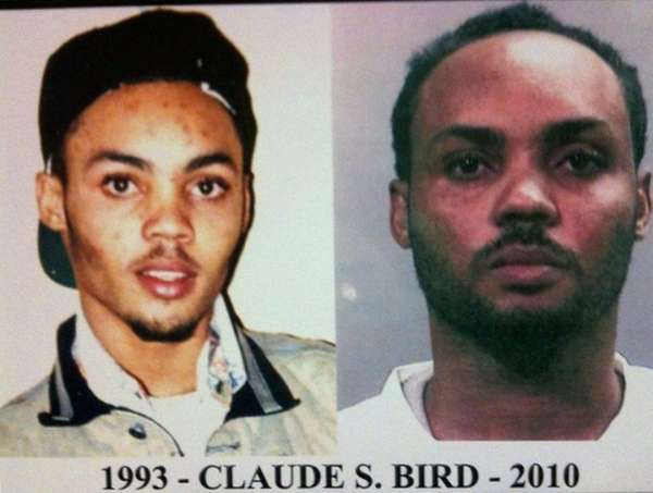 Suspect Claude S. Bird in 1993, and in