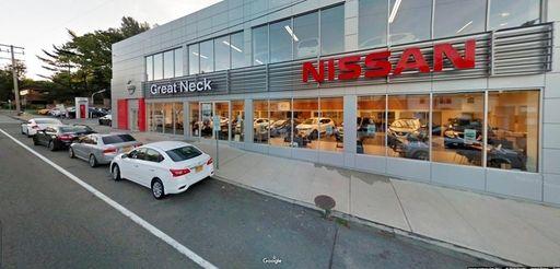 Great Neck Nissan, seen here in October 2017,