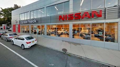 Great Neck Nissan, seen here in October 2017,