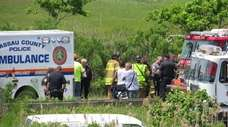 Three teenage boys died in a vehicle rollover