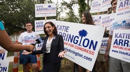 South Carolina state Rep. Katie Arrington, who is