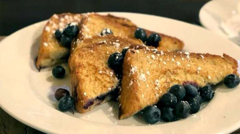 Blueberry French toast from chef James Malone at