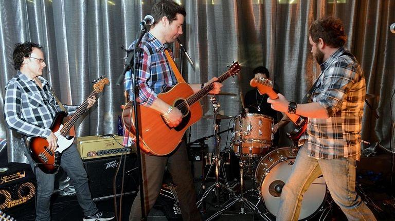 Nine Days band members Nick Dimichino, John Hampson,