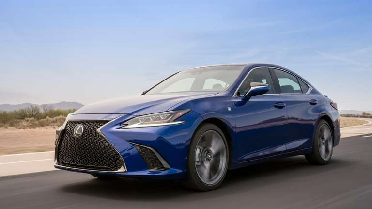 The 2019 version of the Lexus ES luxury