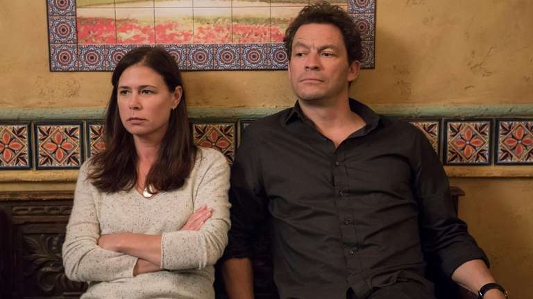 "Maura Tierney and Dominic West star in ""The"