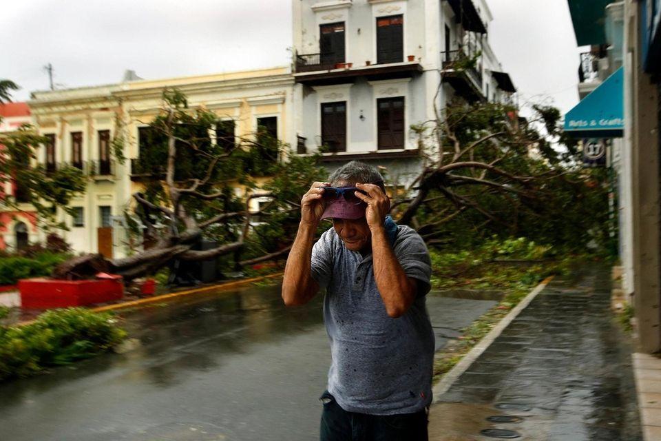 In Old San Juan, Puerto Rico, Hurricane Maria