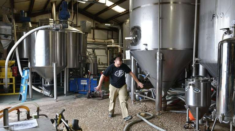 A craft distiller plans to occupy Blue Point