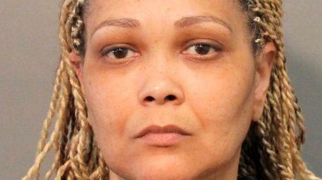 Nassau police said Latricia Hawkins of Hempstead stole