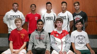 The Newsday All-Long Island boys tennis team at