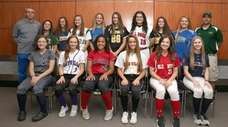 Newsday's All-Long Island softball team at Newsday headquarters