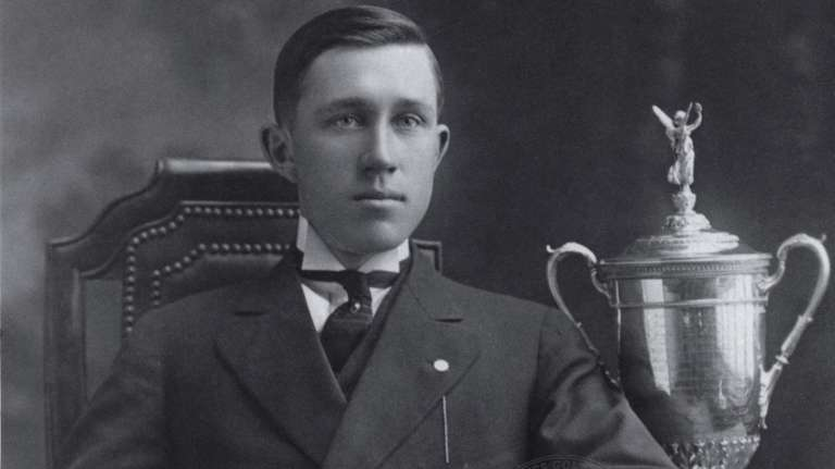 John J. McDermott, winner of the 1911 and