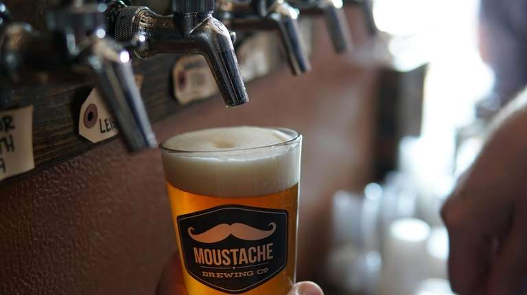 Moustache Brewing Co. in Riverhead is among Long