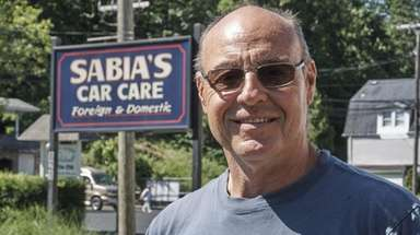 Joe Sabia, owner of Sabia's Car Care in