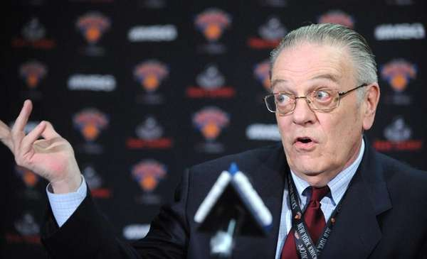 Knicks president Donnie Walsh.