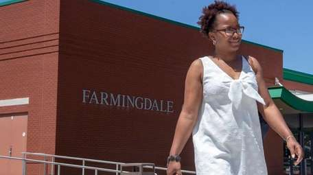 Nephtalie Numa, Patchogue, speaks about SUNY raising its