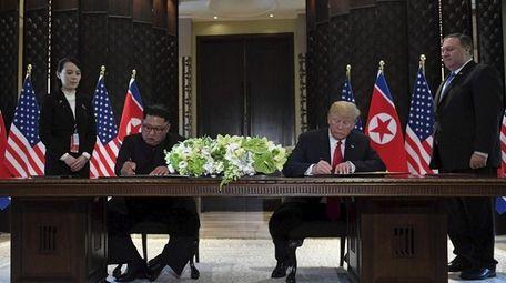 North Korea leader Kim Jong Un and President