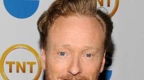 Talk show host Conan O'Brien, who will debut
