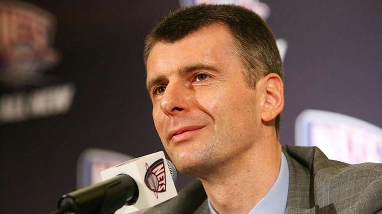 Nets owner Mikhail Prokhorov told reporters Wednesday he
