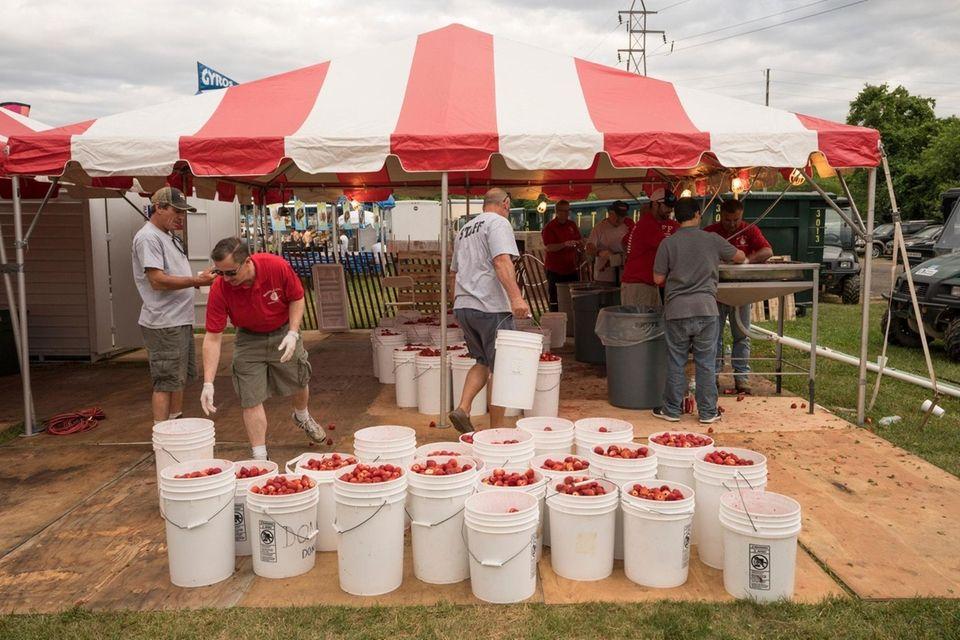 The 64th Annual Mattituck Lions Club Strawberry Festival
