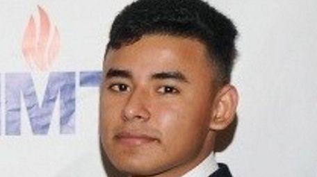 Edgar Lizama, a junior at Huntington High School
