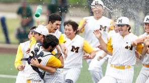 Massapequa celebrates victory over Baldwinsville in state Class
