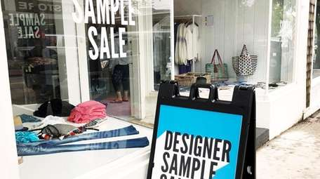 Sample Sale in Southampton sells discounted designer brands