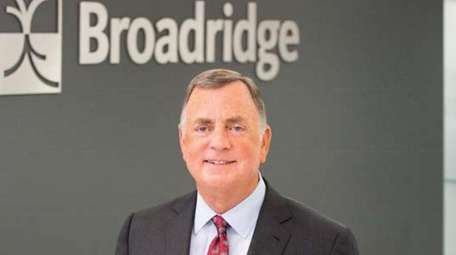 Richard J. Daly, chief executive of Broadridge Financial