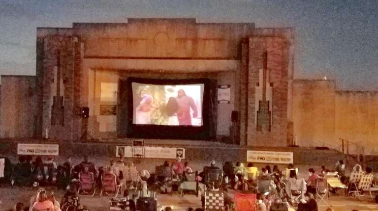 Thursday outdoor movie nights return to the Jones
