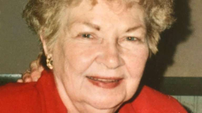 Betty Jane Bockmann, a longtime Wantagh resident, also