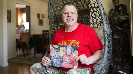 Brian O'Keeffe, whose son Sgt. Ryan O'Keeffe is