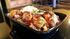 Jerk chicken is one of the Jamaican specialties