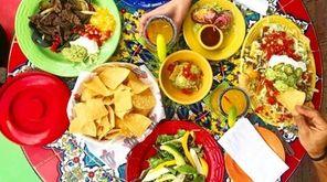 The Tex-Mex menu at Del Fuego, which just