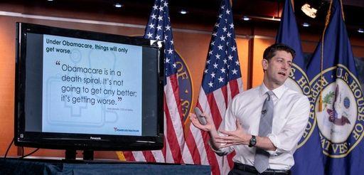 House Speaker Paul Ryan makes his case last