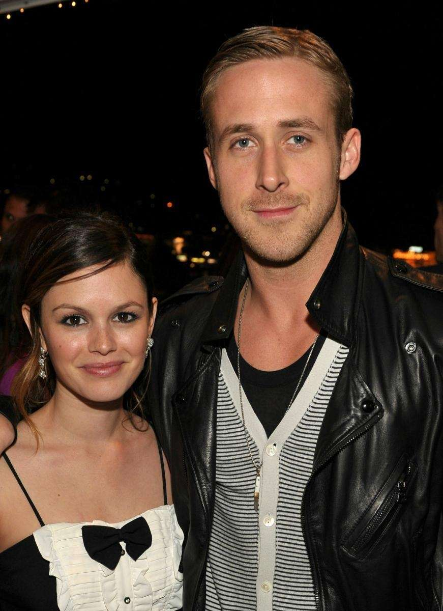 Actors Rachel Bilson and Ryan Gosling attend the