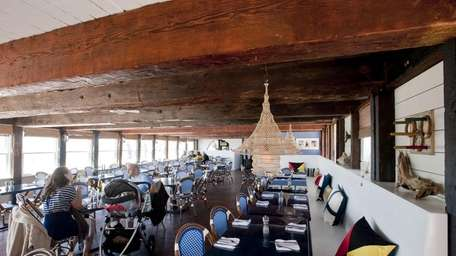 Navy Beach is a new nautical-themed restaurant recently